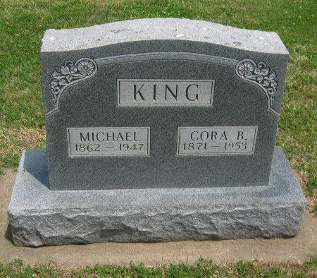 GIBSON KING, CORA BELL - Cowley County, Kansas | CORA BELL GIBSON KING - Kansas Gravestone Photos