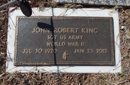 KING, JOHN ROBERT (VETERAN WWII) - Cowley County, Kansas | JOHN ROBERT (VETERAN WWII) KING - Kansas Gravestone Photos
