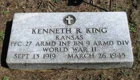 KING, KENNETH ROY (VETERAN WWII DOW) - Cowley County, Kansas | KENNETH ROY (VETERAN WWII DOW) KING - Kansas Gravestone Photos