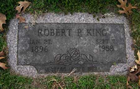 KING, ROBERT PHILIP (VETERAN WWII) - Cowley County, Kansas | ROBERT PHILIP (VETERAN WWII) KING - Kansas Gravestone Photos