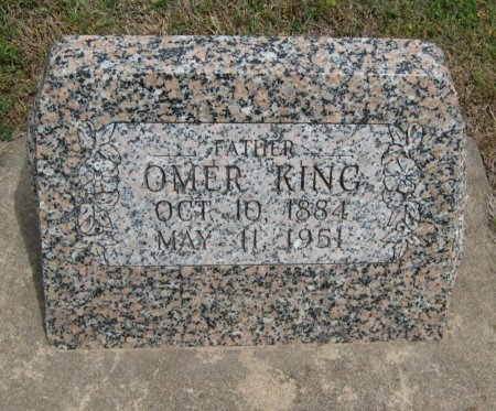 KING, OMER - Cowley County, Kansas | OMER KING - Kansas Gravestone Photos