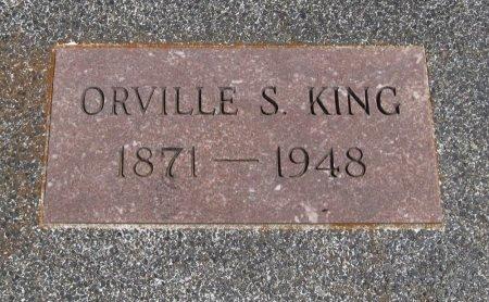 KING, ORVILLE SYLVESTER - Cowley County, Kansas | ORVILLE SYLVESTER KING - Kansas Gravestone Photos