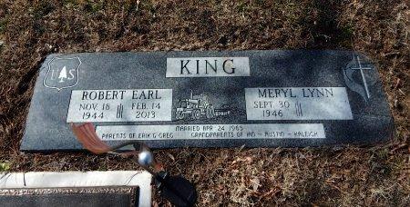 KING, ROBERT EARL - Cowley County, Kansas | ROBERT EARL KING - Kansas Gravestone Photos