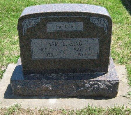 KING, SAM E - Cowley County, Kansas | SAM E KING - Kansas Gravestone Photos