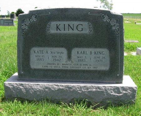 KING, KARL BRAGG, SR - Cowley County, Kansas | KARL BRAGG, SR KING - Kansas Gravestone Photos