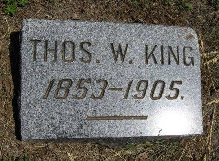 KING, THOMAS WILLIS - Cowley County, Kansas | THOMAS WILLIS KING - Kansas Gravestone Photos