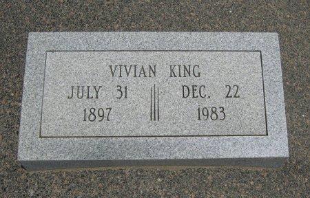 KING, VIVIAN - Cowley County, Kansas | VIVIAN KING - Kansas Gravestone Photos