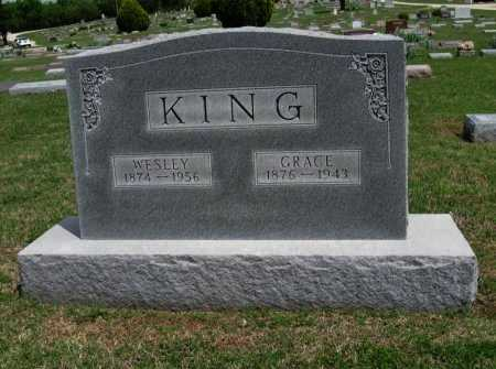 KING, WESLEY - Cowley County, Kansas | WESLEY KING - Kansas Gravestone Photos