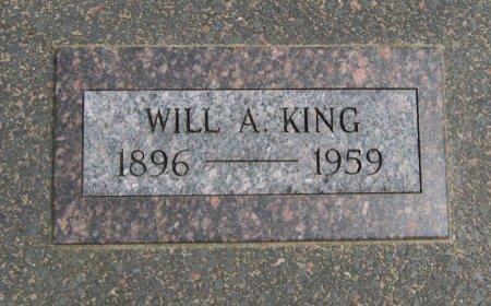 "KING, WILLIAM A ""WILL"" - Cowley County, Kansas | WILLIAM A ""WILL"" KING - Kansas Gravestone Photos"