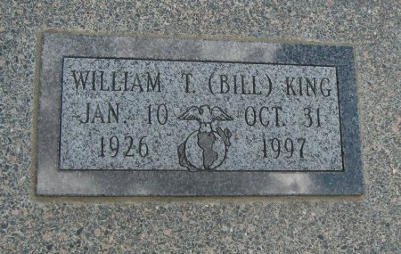 "KING, WILLIAM THEODORE ""BILL"" - Cowley County, Kansas 
