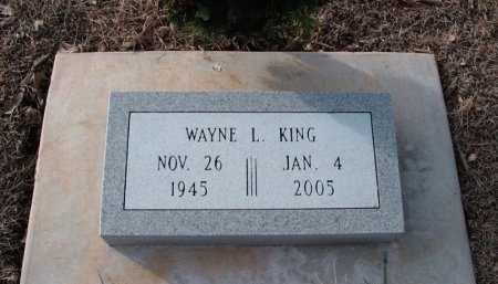 KING, WAYNE LEE - Cowley County, Kansas | WAYNE LEE KING - Kansas Gravestone Photos