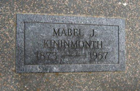 KININMONTH, MABEL JESSIE - Cowley County, Kansas | MABEL JESSIE KININMONTH - Kansas Gravestone Photos