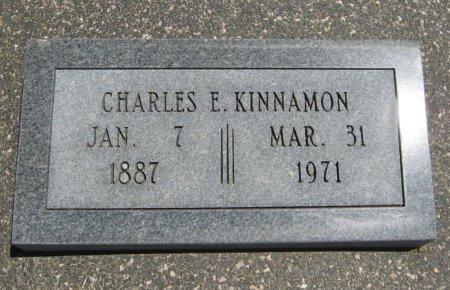 KINNAMON, CHARLES EDWARD - Cowley County, Kansas | CHARLES EDWARD KINNAMON - Kansas Gravestone Photos