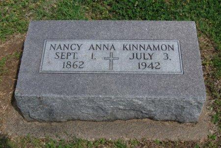 KINNAMON, NANCY ANNA - Cowley County, Kansas   NANCY ANNA KINNAMON - Kansas Gravestone Photos