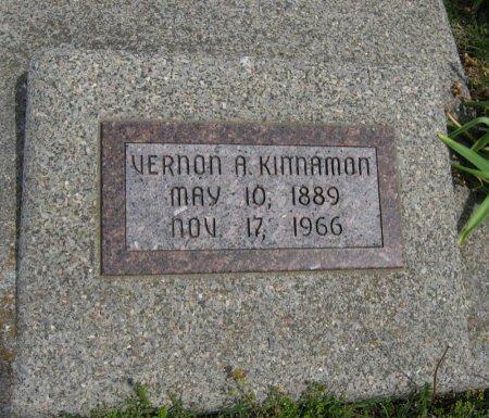KINNAMON, VERNON ARLEY - Cowley County, Kansas   VERNON ARLEY KINNAMON - Kansas Gravestone Photos