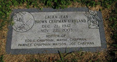 CHAPMAN, LAURA JEAN - Cowley County, Kansas | LAURA JEAN CHAPMAN - Kansas Gravestone Photos