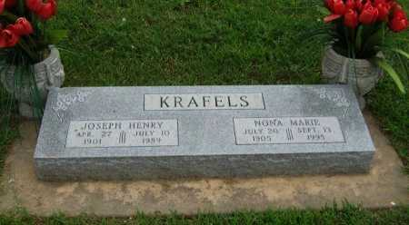 JOHNSON KRAFELS, NONA MARIE - Cowley County, Kansas   NONA MARIE JOHNSON KRAFELS - Kansas Gravestone Photos