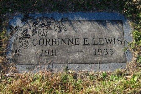 LEWIS, CORRINNE E - Cowley County, Kansas | CORRINNE E LEWIS - Kansas Gravestone Photos