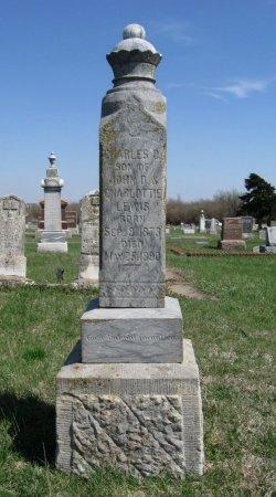 LEWIS, CHARLES D - Cowley County, Kansas   CHARLES D LEWIS - Kansas Gravestone Photos