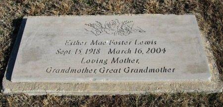 LEWIS, ESTHER MAE  - Cowley County, Kansas | ESTHER MAE  LEWIS - Kansas Gravestone Photos