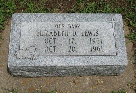 LEWIS, ELIZABETH D - Cowley County, Kansas   ELIZABETH D LEWIS - Kansas Gravestone Photos