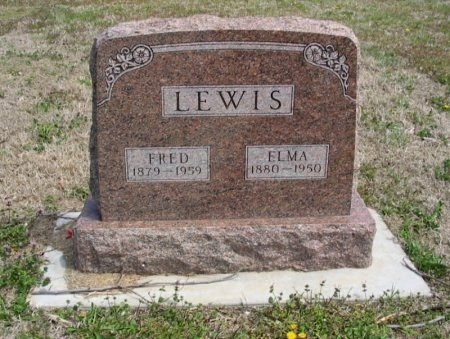 LEWIS, ELMA - Cowley County, Kansas | ELMA LEWIS - Kansas Gravestone Photos