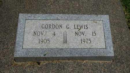 LEWIS, GORDON G - Cowley County, Kansas   GORDON G LEWIS - Kansas Gravestone Photos