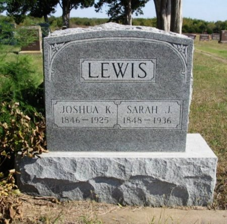LEWIS, JOSHUA KILLEY - Cowley County, Kansas | JOSHUA KILLEY LEWIS - Kansas Gravestone Photos