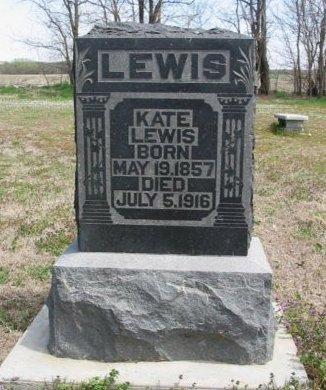 LEWIS, KATE - Cowley County, Kansas   KATE LEWIS - Kansas Gravestone Photos