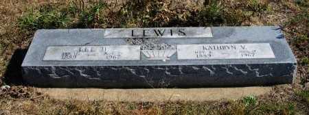 LEWIS, LEE HARVEY - Cowley County, Kansas | LEE HARVEY LEWIS - Kansas Gravestone Photos