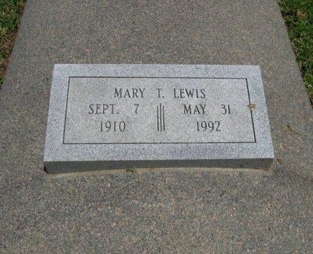 LEWIS, MARY T - Cowley County, Kansas | MARY T LEWIS - Kansas Gravestone Photos