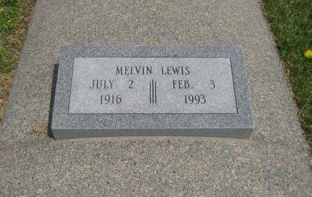 LEWIS, MELVIN - Cowley County, Kansas | MELVIN LEWIS - Kansas Gravestone Photos