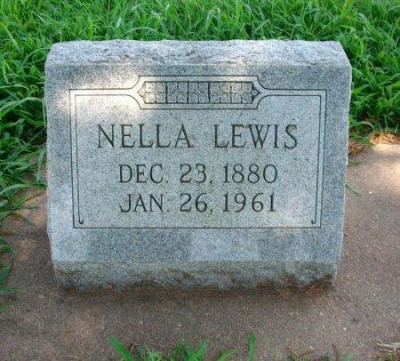 LEWIS, NELLLA - Cowley County, Kansas | NELLLA LEWIS - Kansas Gravestone Photos