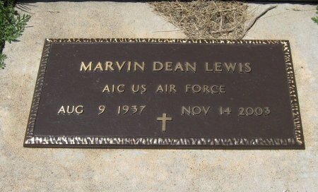 LEWIS, MARVIN DEAN (VETERAN) - Cowley County, Kansas | MARVIN DEAN (VETERAN) LEWIS - Kansas Gravestone Photos