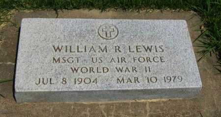 LEWIS, WILLIAM R  (VETERAN WWII) - Cowley County, Kansas | WILLIAM R  (VETERAN WWII) LEWIS - Kansas Gravestone Photos