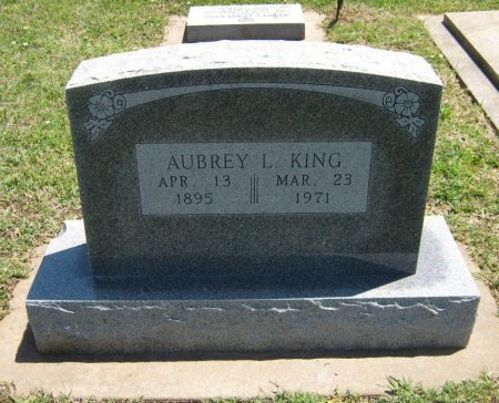 KING, AUBREY LOUIS - Cowley County, Kansas | AUBREY LOUIS KING - Kansas Gravestone Photos