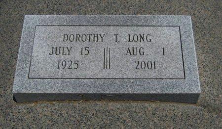 EARLY LONG, DOROTHY T - Cowley County, Kansas   DOROTHY T EARLY LONG - Kansas Gravestone Photos