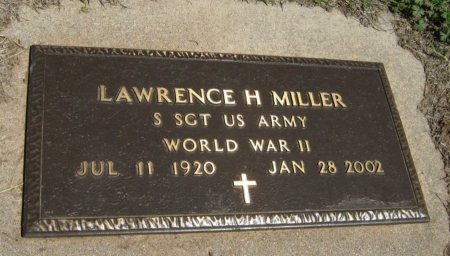 MILLER, LAWRENCE H (VETERAN WWII) - Cowley County, Kansas | LAWRENCE H (VETERAN WWII) MILLER - Kansas Gravestone Photos