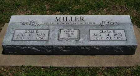 CHEATHAM MILLER, CLARA E - Cowley County, Kansas | CLARA E CHEATHAM MILLER - Kansas Gravestone Photos