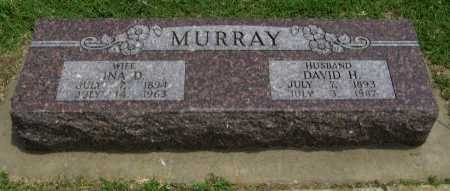 MABUCE MURRAY, INA DESMOND - Cowley County, Kansas   INA DESMOND MABUCE MURRAY - Kansas Gravestone Photos