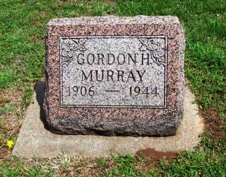 MURRAY, GORDON HUGHES - Cowley County, Kansas   GORDON HUGHES MURRAY - Kansas Gravestone Photos