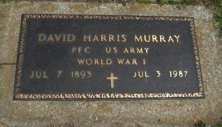 MURRAY, DAVID HARRIS (VETERAN WWI) - Cowley County, Kansas   DAVID HARRIS (VETERAN WWI) MURRAY - Kansas Gravestone Photos