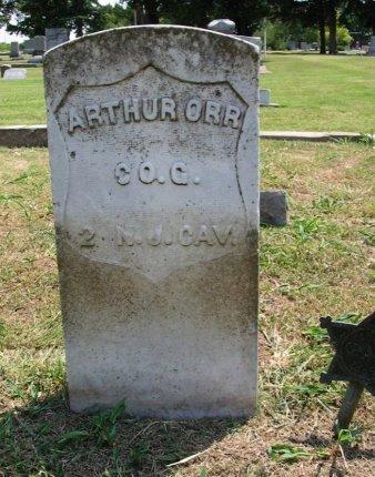 ORR, ARTHUR (VETERAN UNION) - Cowley County, Kansas   ARTHUR (VETERAN UNION) ORR - Kansas Gravestone Photos