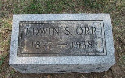 ORR, EDWIN STANTON - Cowley County, Kansas | EDWIN STANTON ORR - Kansas Gravestone Photos