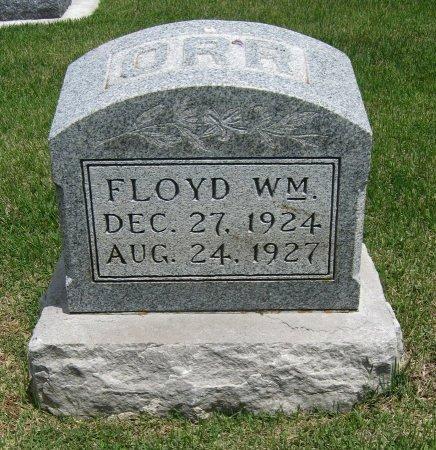 ORR, FLOYD WILLIAM - Cowley County, Kansas | FLOYD WILLIAM ORR - Kansas Gravestone Photos