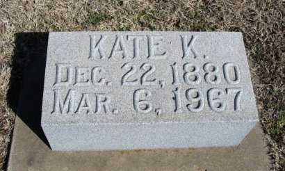 ORR, KATIE K - Cowley County, Kansas | KATIE K ORR - Kansas Gravestone Photos