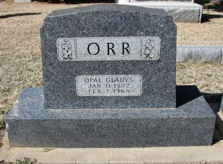 ORR, OPAL GLADYS - Cowley County, Kansas   OPAL GLADYS ORR - Kansas Gravestone Photos