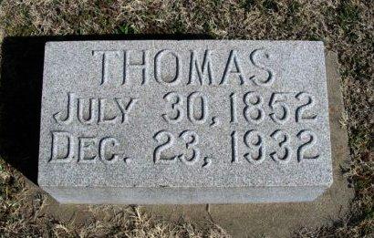 ORR, THOMAS - Cowley County, Kansas | THOMAS ORR - Kansas Gravestone Photos