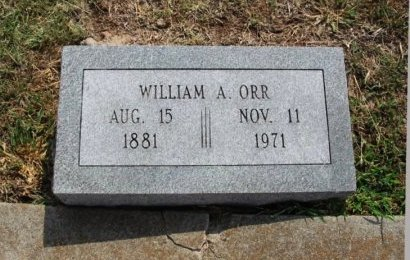 ORR, WILLIAM A - Cowley County, Kansas   WILLIAM A ORR - Kansas Gravestone Photos