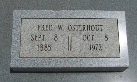 OSTERHOUT, FRED W - Cowley County, Kansas | FRED W OSTERHOUT - Kansas Gravestone Photos